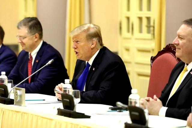 Tổng thống Donald Trump hội kiến Tổng Bí thư, Chủ tịch nước Nguyễn Phú Trọng - 3