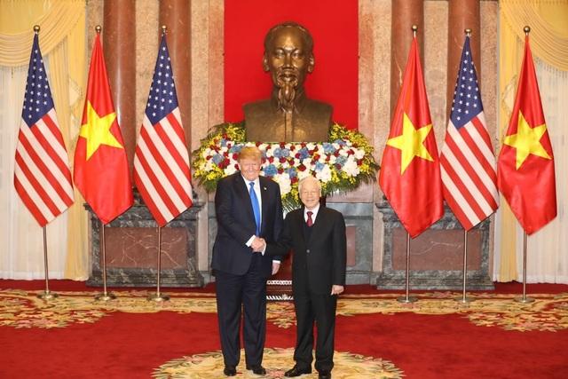 Tổng thống Donald Trump hội kiến Tổng Bí thư, Chủ tịch nước Nguyễn Phú Trọng - 5