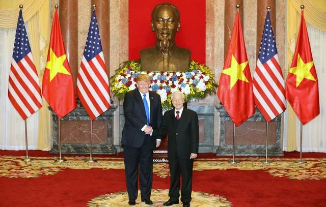 Hình ảnh hoạt động đầu tiên của Tổng thống Donald Trump tại Việt Nam - 2