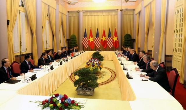 Hình ảnh hoạt động đầu tiên của Tổng thống Donald Trump tại Việt Nam - 3