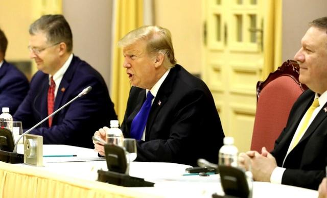 Hình ảnh hoạt động đầu tiên của Tổng thống Donald Trump tại Việt Nam - 5