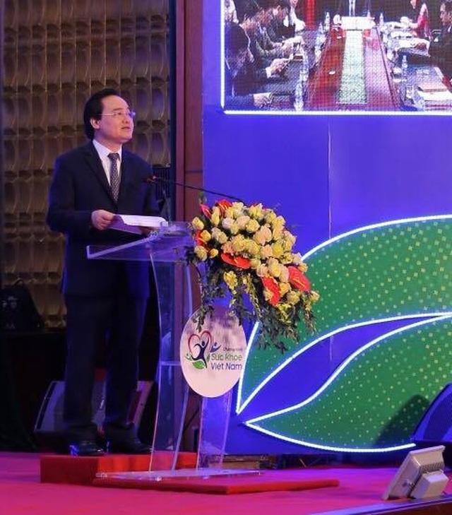 """Bộ trưởng Phùng Xuân Nhạ: Thời gian ở  nhà trường là """"giai đoạn vàng"""" để phát triển thể lực, trí tuệ - 1"""