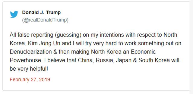 Tổng thống Trump - Chủ tịch Kim ăn tối tại Hà Nội, ca ngợi mối quan hệ tuyệt vời - 42