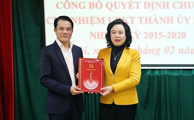 Hà Nội có tân Chủ nhiệm Ủy ban Kiểm tra Thành ủy sau 1 năm trống ghế - 1