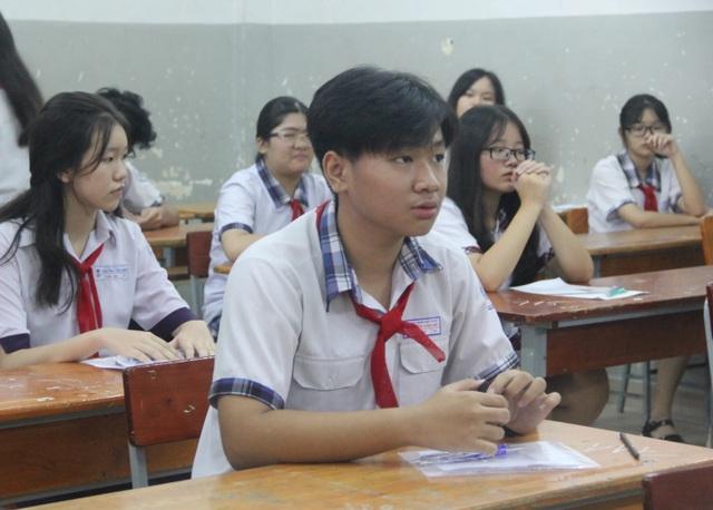 Những điểm mới trong kỳ thi lớp 10 năm nay ở TPHCM - 2