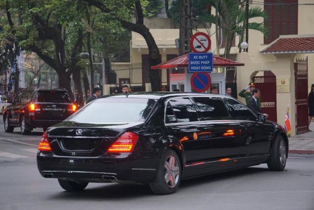 Ngắm cặp đôi xe Mercedes-Benz và Maybach chở anh em Chủ tịch Kim Jong-un - 5