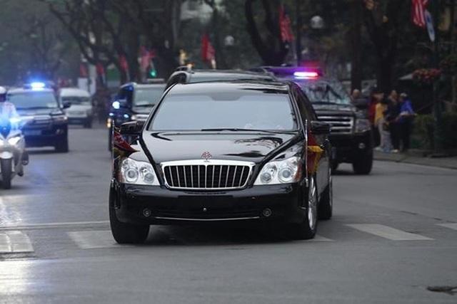 Ngắm cặp đôi xe Mercedes-Benz và Maybach chở anh em Chủ tịch Kim Jong-un - 10