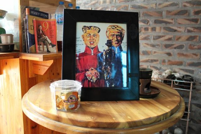 Chiêm ngưỡng tác phẩm hoạ sĩ Việt vẽ chân dung nhà lãnh đạo Mỹ - Triều Tiên - 5