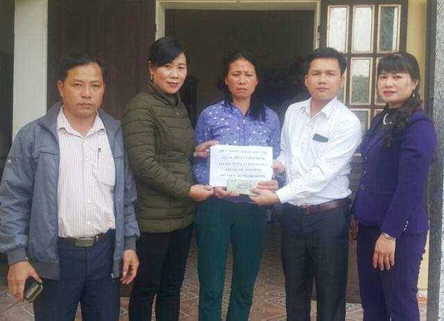 Gần 83 triệu đồng đến với gia đình chị Đoàn Thị Chinh - 1
