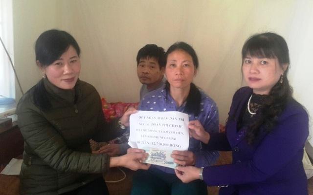 Gần 83 triệu đồng đến với gia đình chị Đoàn Thị Chinh - 2