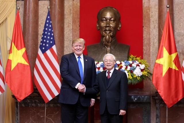 Tổng thống Donald Trump mời Tổng Bí thư, Chủ tịch nước Nguyễn Phú Trọng thăm Hoa Kỳ - 1