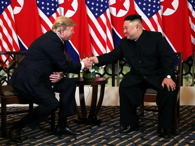 Tổng thống Trump - Chủ tịch Kim ăn tối tại Hà Nội, ca ngợi mối quan hệ tuyệt vời - 6