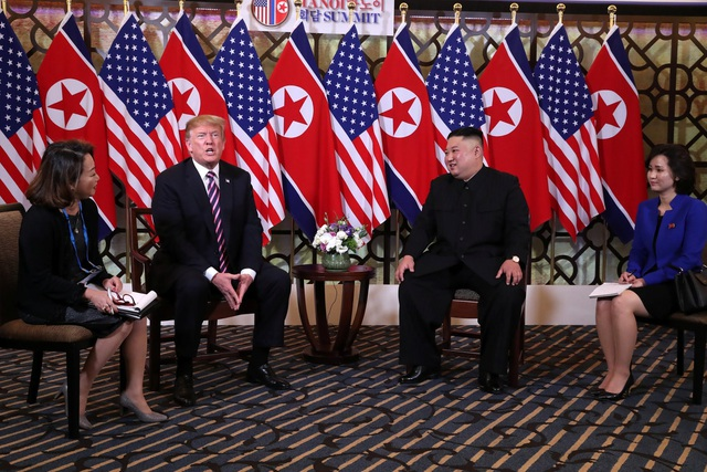 Tổng thống Trump - Chủ tịch Kim ăn tối tại Hà Nội, ca ngợi mối quan hệ tuyệt vời - 7