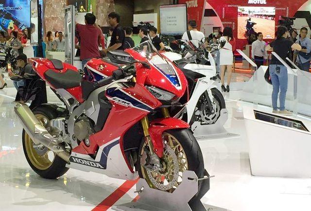 Triển lãm vietnam motorcycle show