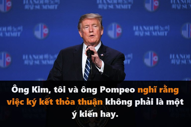 Những phát ngôn đáng chú ý của Tổng thống Trump tại thượng đỉnh ở Hà Nội - 1