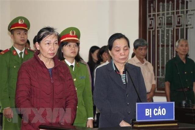 Hòa Bình: 2 phụ nữ lĩnh án 24 năm tù giam vì lừa đảo chạy việc - 1