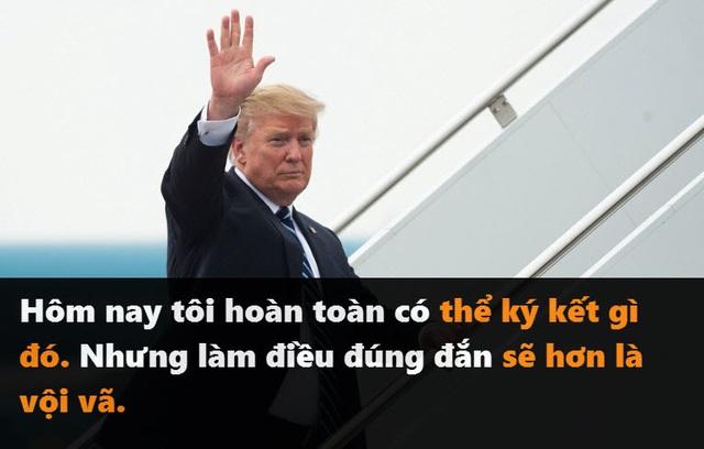 Những phát ngôn đáng chú ý của Tổng thống Trump tại thượng đỉnh ở Hà Nội - 9
