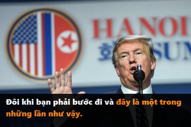 Những phát ngôn đáng chú ý của Tổng thống Trump tại thượng đỉnh ở Hà Nội - 2