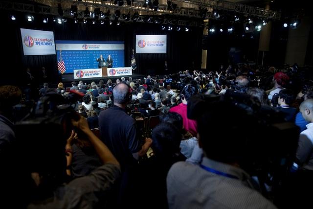 Ông Trump: Mỹ - Triều không đạt thỏa thuận vì bất đồng lệnh trừng phạt - 4