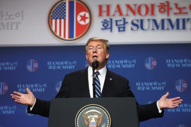 Ông Trump: Mỹ - Triều không đạt thỏa thuận vì bất đồng lệnh trừng phạt - 3