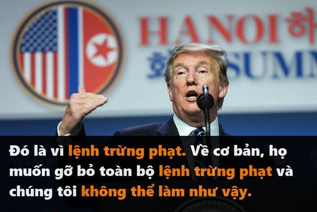 Những phát ngôn đáng chú ý của Tổng thống Trump tại thượng đỉnh ở Hà Nội - 3