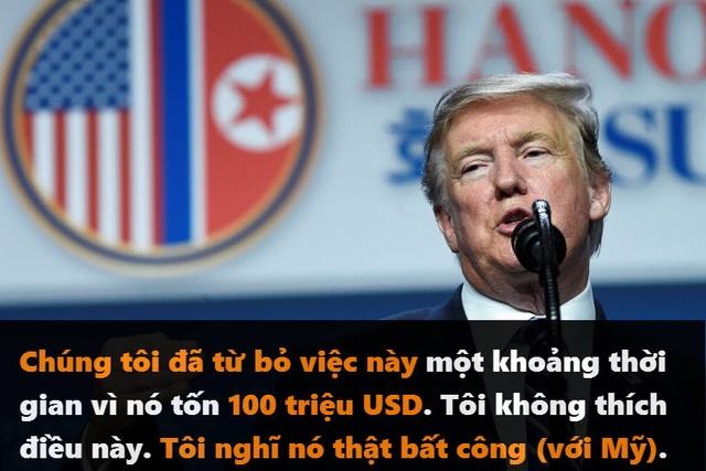 Những phát ngôn đáng chú ý của Tổng thống Trump tại thượng đỉnh ở Hà Nội - 4