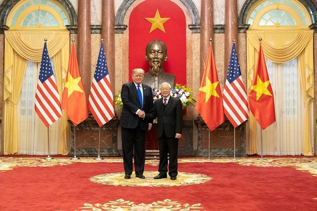 Từ Không lực Một, Tổng thống Trump ca ngợi và cảm ơn Việt Nam  - 1