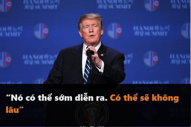 Những phát ngôn đáng chú ý của Tổng thống Trump tại thượng đỉnh ở Hà Nội - 5