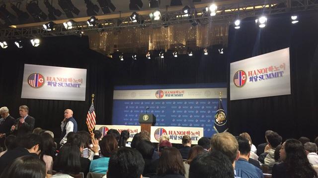 Ông Trump: Mỹ - Triều không đạt thỏa thuận vì bất đồng lệnh trừng phạt - 14