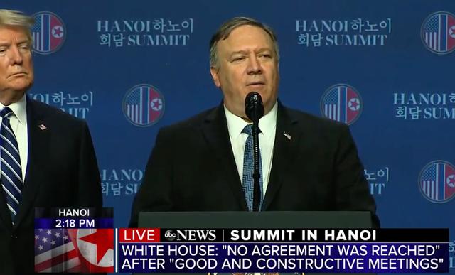 Ông Trump: Mỹ - Triều không đạt thỏa thuận vì bất đồng lệnh trừng phạt - 9