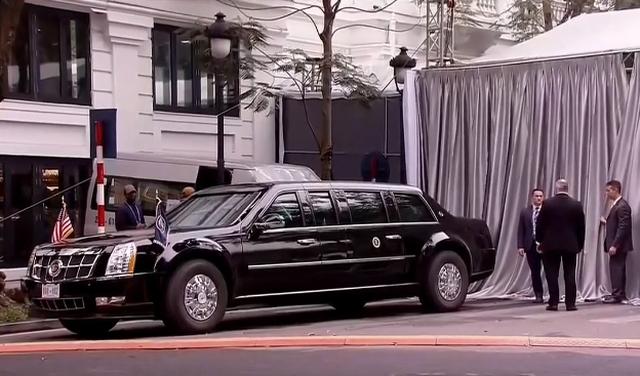 Tổng thống Mỹ và Chủ tịch Triều Tiên đến Metropole họp Hội nghị thượng đỉnh - 7