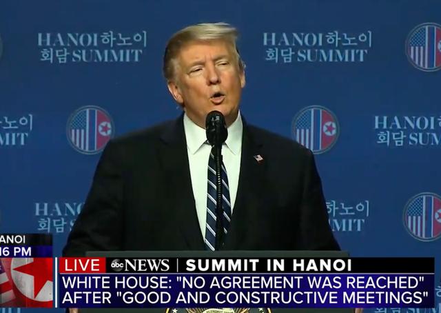 Ông Trump: Mỹ - Triều không đạt thỏa thuận vì bất đồng lệnh trừng phạt - 10