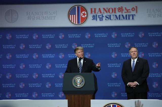 Ông Trump: Mỹ - Triều không đạt thỏa thuận vì bất đồng lệnh trừng phạt - 6
