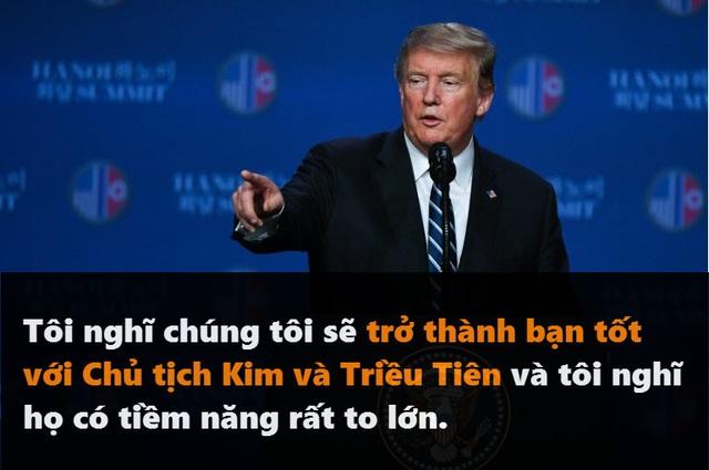 Những phát ngôn đáng chú ý của Tổng thống Trump tại thượng đỉnh ở Hà Nội - 6