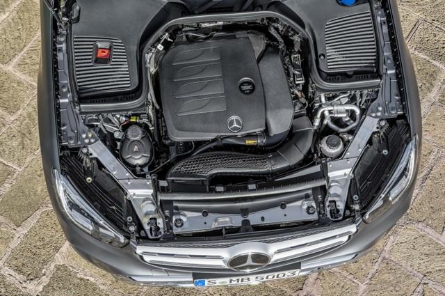 Mercedes-Ben GLC được trang bị động cơ mới - 3