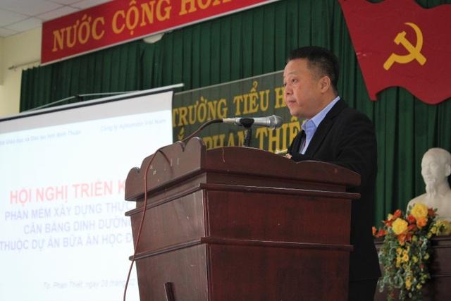 Chuẩn hóa thực đơn cho học sinh tiểu học bán trú Bình Thuận - 2