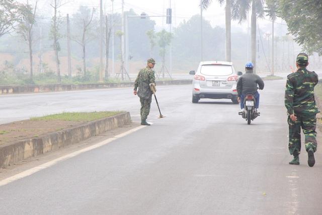 Kiểm tra an ninh tại khu công nghệ cao Hòa Lạc, chờ đón phái đoàn Triều Tiên - 5