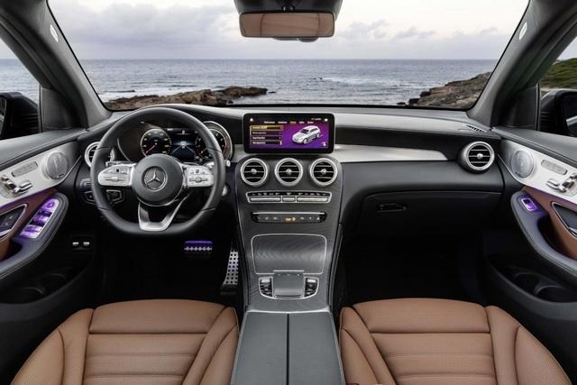 Mercedes-Ben GLC được trang bị động cơ mới - 2