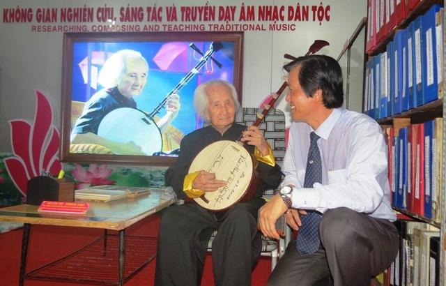 Đề nghị xét tặng danh hiệu Nghệ nhân Nhân dân cho Nhạc sư Nguyễn Vĩnh Bảo - 1