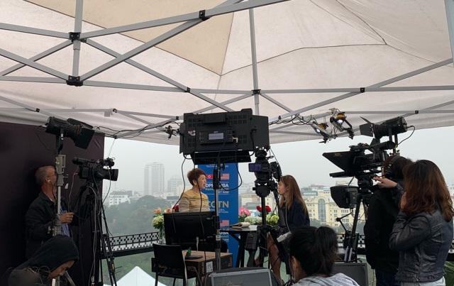 """Những trường quay """"cực chất"""" được lựa chọn ghi hình đưa tin hội nghị Thượng đỉnh Mỹ - Triều - 1"""
