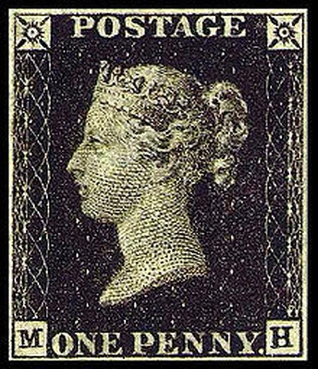 Penny Black là con tem đầu tiên trên thế giới.