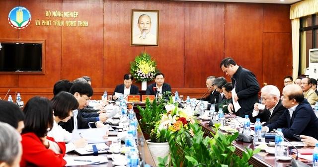 PTT Trịnh Đình Dũng làm việc với Bộ Nông nghiệp về ngăn chặn dịch tả lợn Châu Phi.JPG