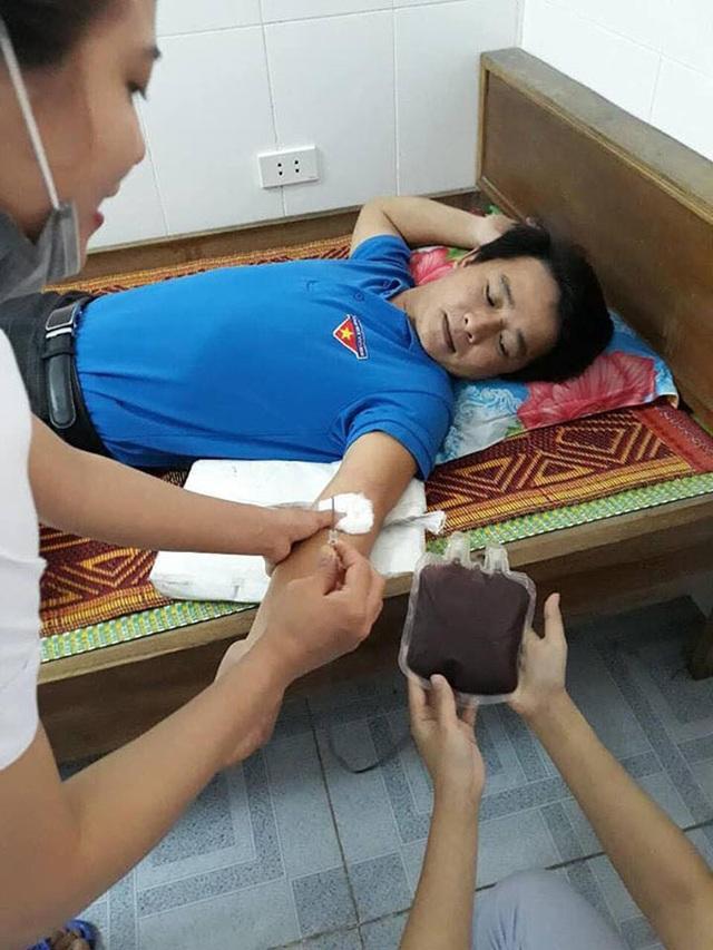 Hà Tĩnh: Thủ lĩnh Đoàn 17 lần hiến máu cứu người - 2