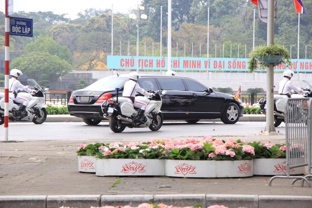 Lễ đón chính thức Chủ tịch Triều Tiên Kim Jong-un tại Phủ Chủ tịch - 2