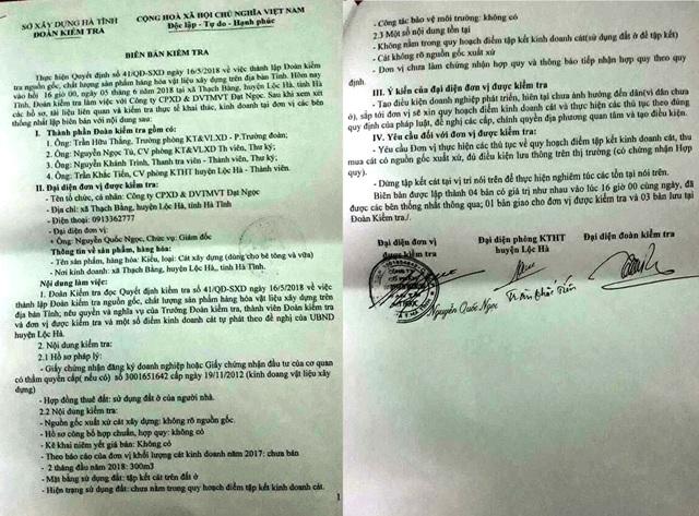 Hà Tĩnh: Bãi cát trái phép tập kết rầm rộ gần UBND huyện, dân lĩnh đủ! - 3