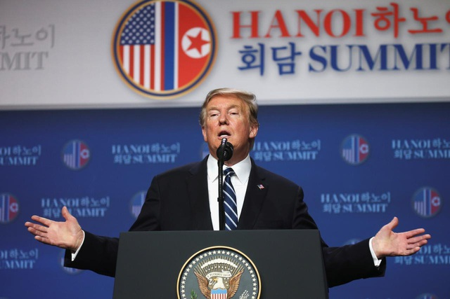 Ông Trump nêu lý do khiến hội nghị thượng đỉnh Mỹ - Triều lần hai không có thỏa thuận - 1