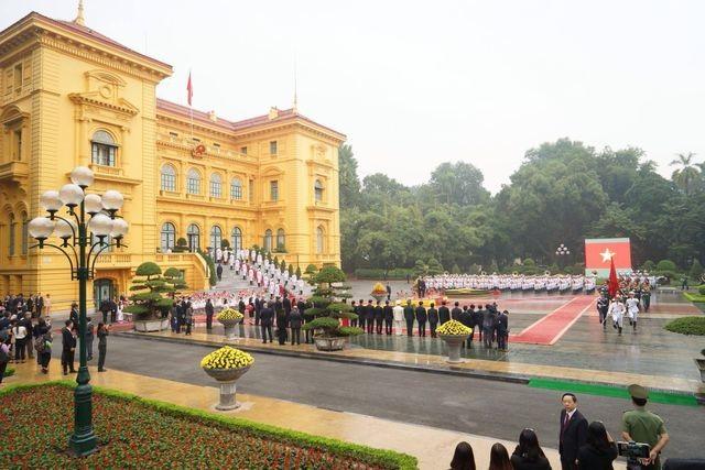 Lễ đón chính thức Chủ tịch Triều Tiên Kim Jong-un tại Phủ Chủ tịch - 14