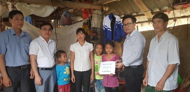 Bạn đọc giúp 4 mẹ con chị Lương Thị Vân có nhà mới  - 1