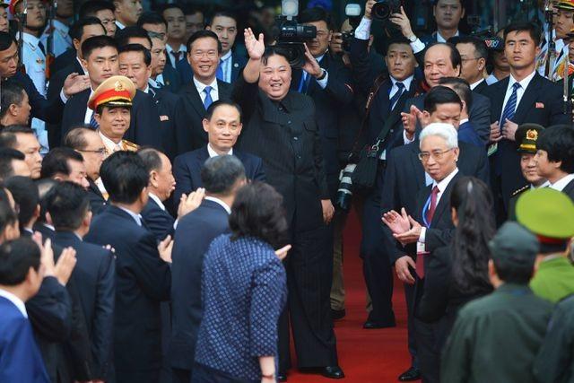 Ấn tượng về Chủ tịch Triều Tiên Kim Jong-un trong chuyến công du Việt Nam - 14