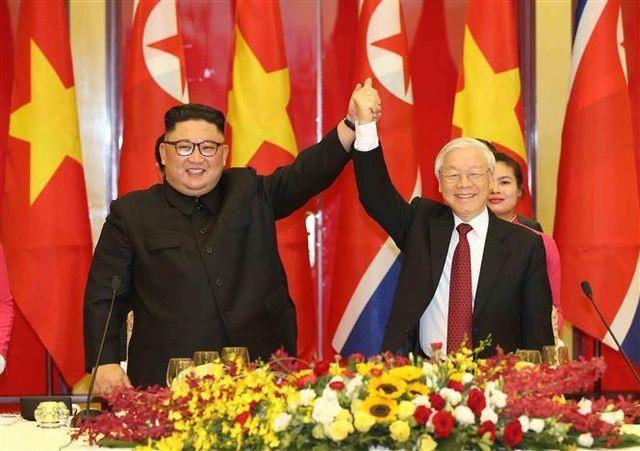 Ấn tượng về Chủ tịch Triều Tiên Kim Jong-un trong chuyến công du Việt Nam - 3